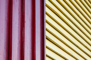 Linien, rot und gelb -- lines, red and yellow